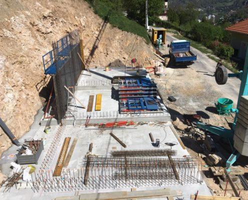 Construction de garage par Maçonnerie Pouget