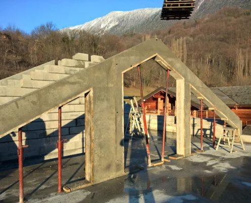 Construction de maison à Villarberanger par Maçonnerie Pouget