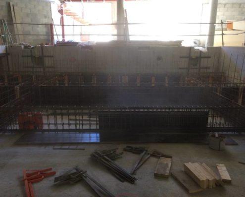 Construction de piscine à Courchevel par Maçonnerie Pouget