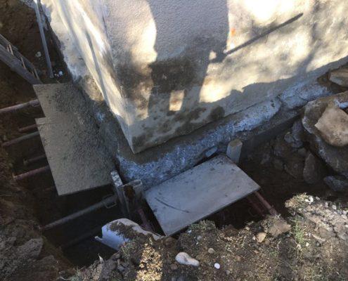 Restructuration maison par sous fondages par Maçonnerie Pouget