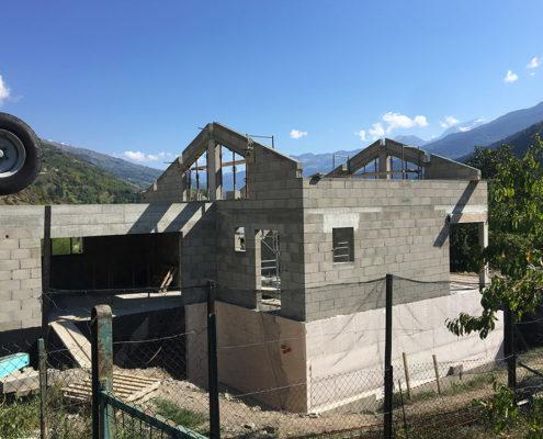 Réalisation d'une villa complète par Maçonnerie Pouget